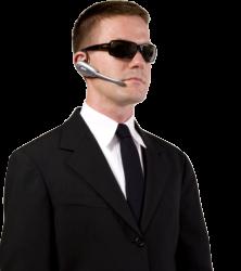 adult man wearing black suit